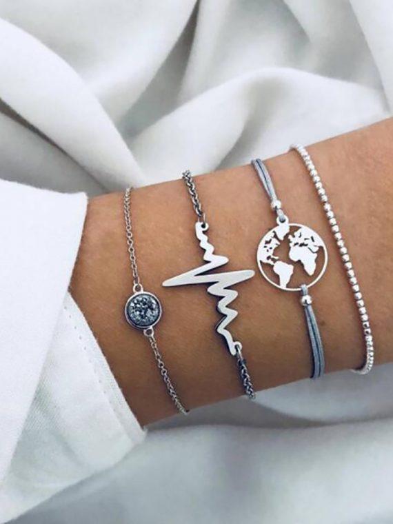 4pcs-Women-Simple-Beaded-ECG-World-Map-Chain-Bracelets-four-piece-Alloy-Charm-Bracelet-Set-Women.jpg
