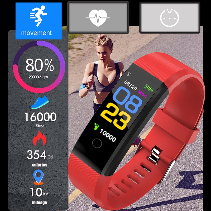 496b8ef49 ... New Smart Watch Men Women Heart Rate Monitor Blood Pressure Fitness  Tracker Smartwatch Sport Watch for ios android +BOX. Previous