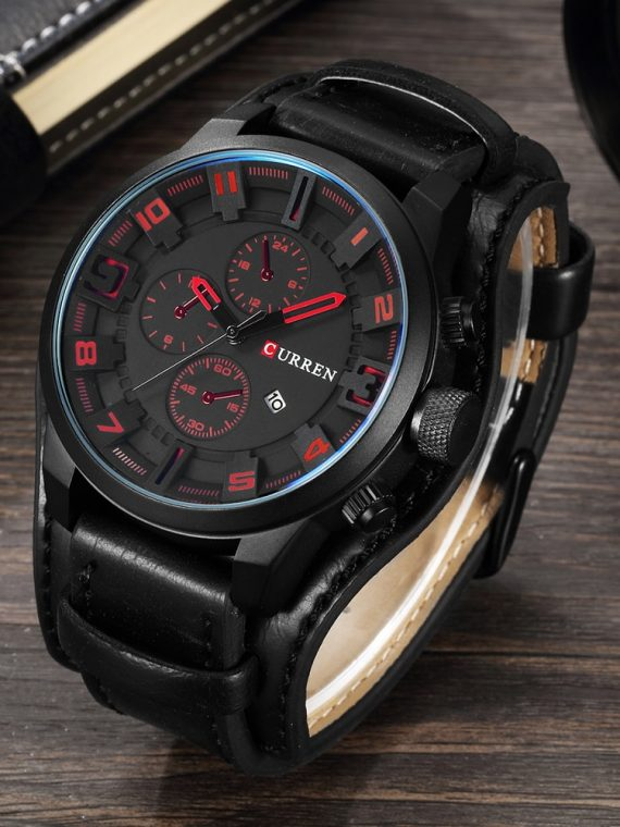 Top Brand Luxury Military Steampunk Sports Male Quartz Watch
