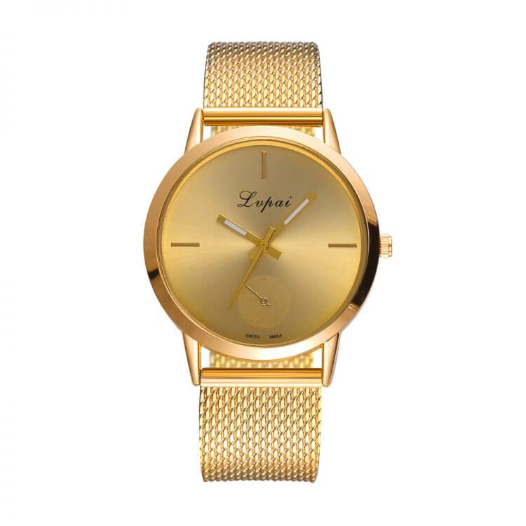 Lvpai Women's Casual very charming for all occasions Quartz Silicone Analog Wristwatch